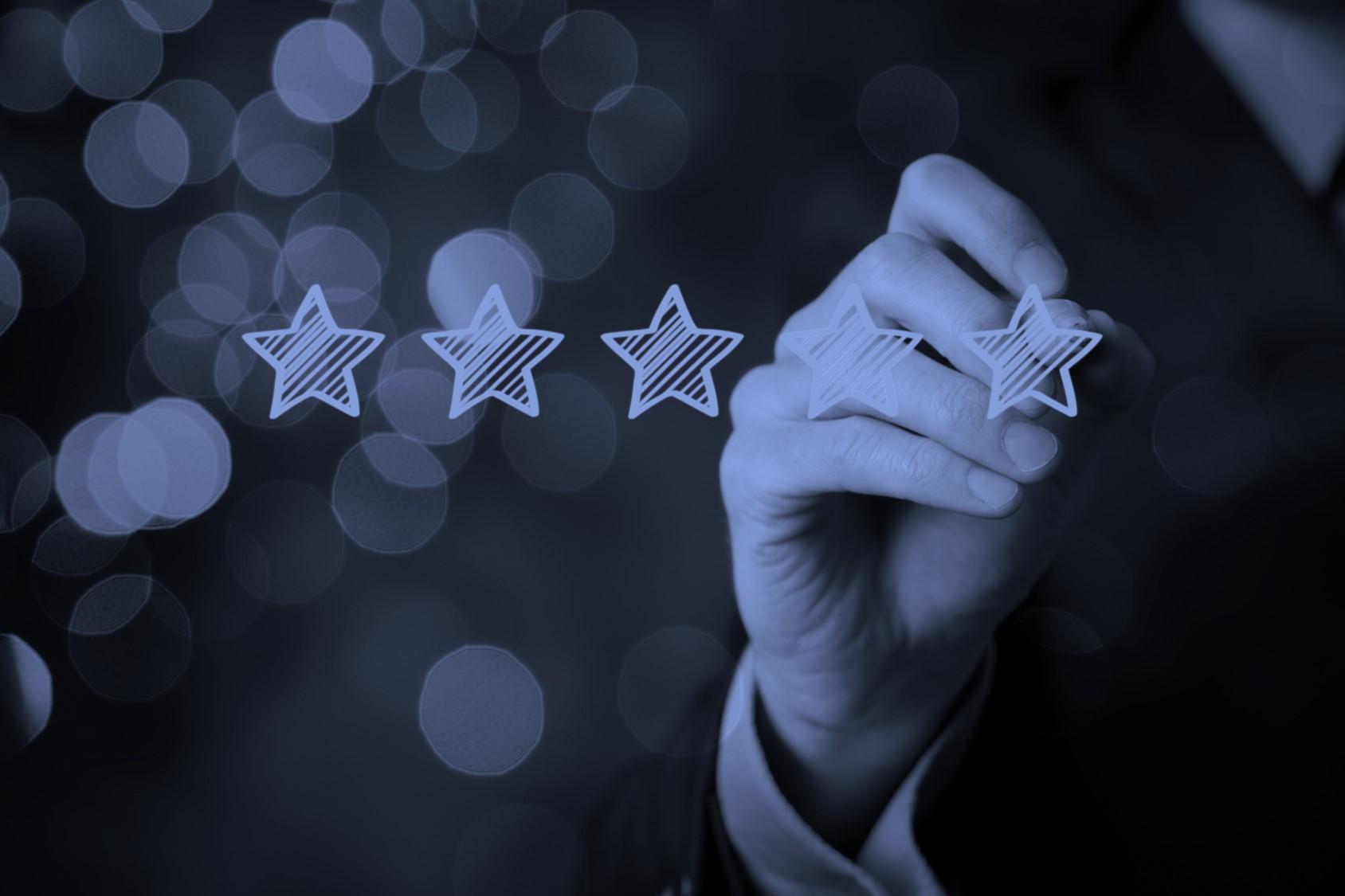 Panorays 5 stars rating SC Media blue